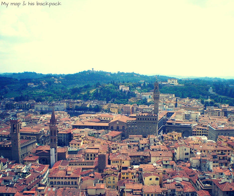 FLORENCE VIEW FROM DUOMO